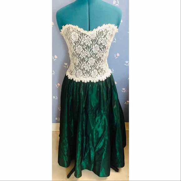 Jessica McClintock Dresses & Skirts - Vintage 80's Prom Dress